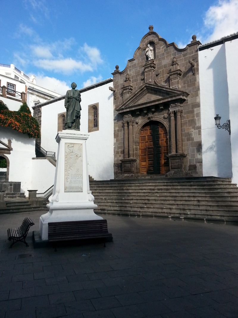 Placa de Espana in Santa Cruz de la Palma