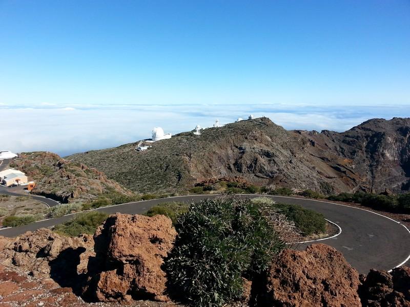 Observatorien auf Roque de Los Muchachos