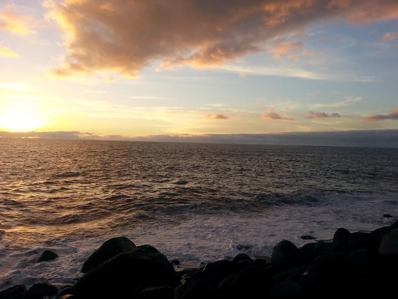 Peurto Tazacorte - Sonnenuntergang