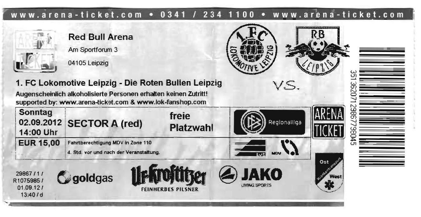 RB Leipzig gegen Lok Leipzig (4.Liga)