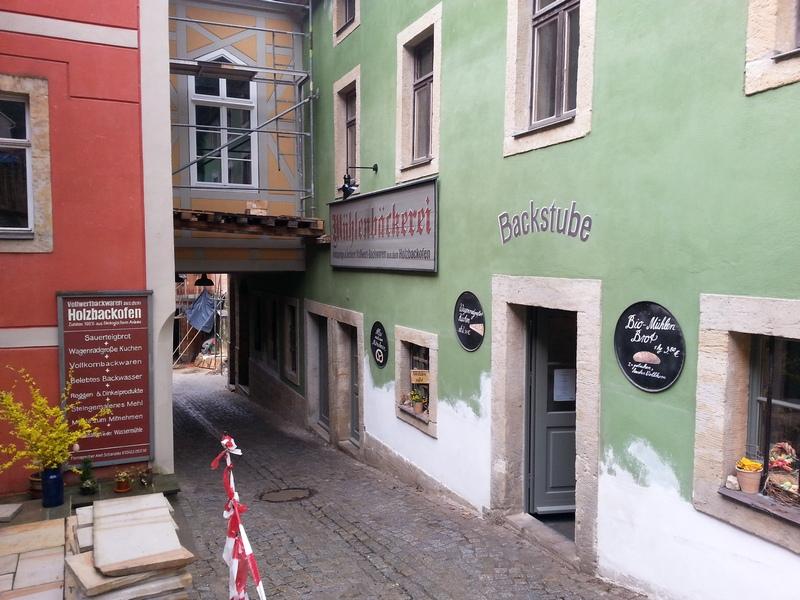 Mühlenbäckerei in Schmilka