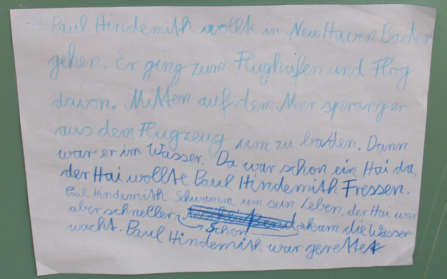 Geschichte über Paul Hindemith