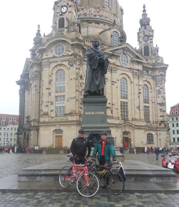 Start Dresden - Berlin - Warschau - Prag