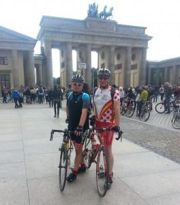Zwischenziel am Brandenburger Tor