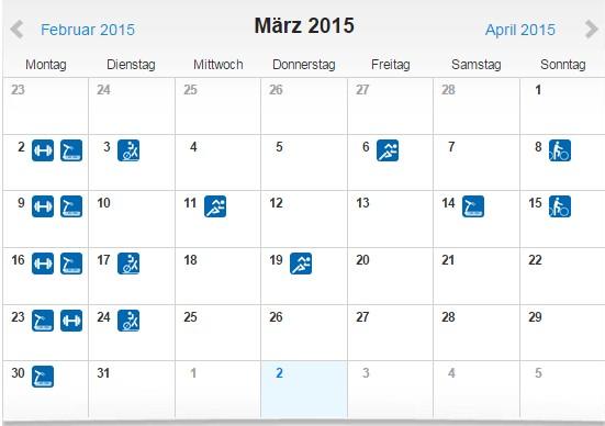 Aktivitäten März 2015
